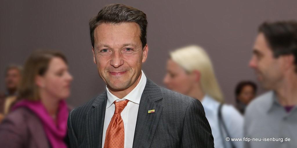 Jörg Müller, bisheriger Ortsvorsitzender der FDP Neu-Isenburg
