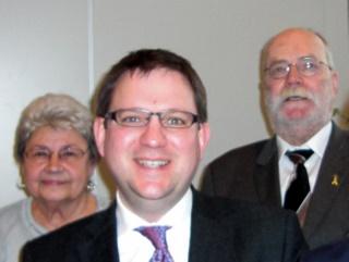 v.l.n.r.: Edith Reitz, Ortsvorsitzende LiS, Dr. Stefan Ruppert, MdB, Gerhard H. Gräber, Kreisvorsitzender LiS.