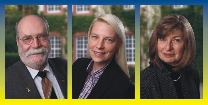 v.l.n.r.: Gerhard H. Gräber, Susann Guber und Helga Gräber.