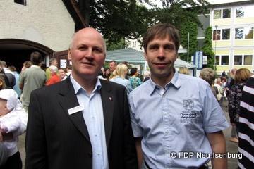 v.l.n.r.: Karsten D'Oro und Andreas Frache