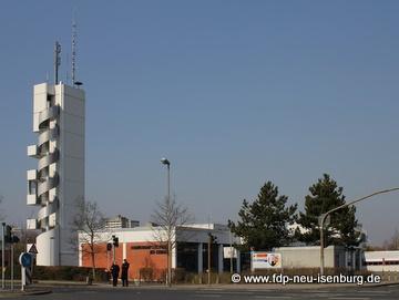 Feuerwehrstützpunkt in Neu-Isenburg.
