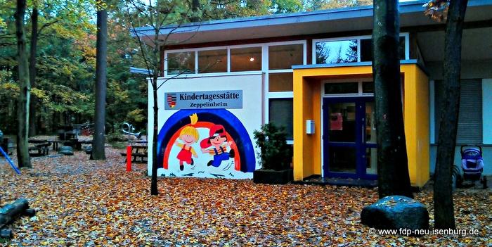 Kindertagesstätte in Zeppelinheim.