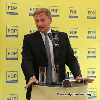 Christian Lindner, stellv. Vorsitzender der FDP