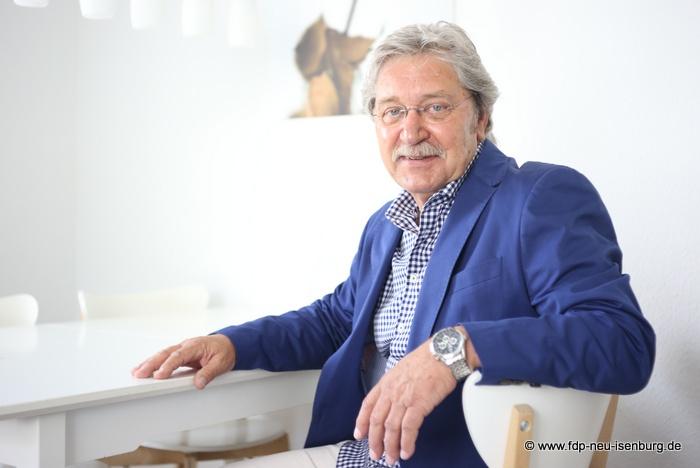Rolf Scholibo, Beisitzer im Vorstand der FDP Neu-Isenburg