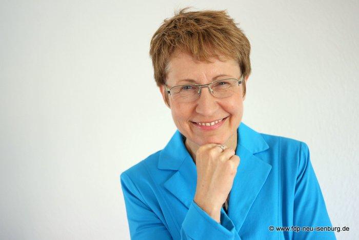 Dagmar Weimer, Europabeauftragte des FDP Kreisverbandes