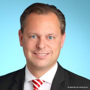 Thilo Seipel, stellv. Ortsvorsitzender und Bürgermeisterkandidat