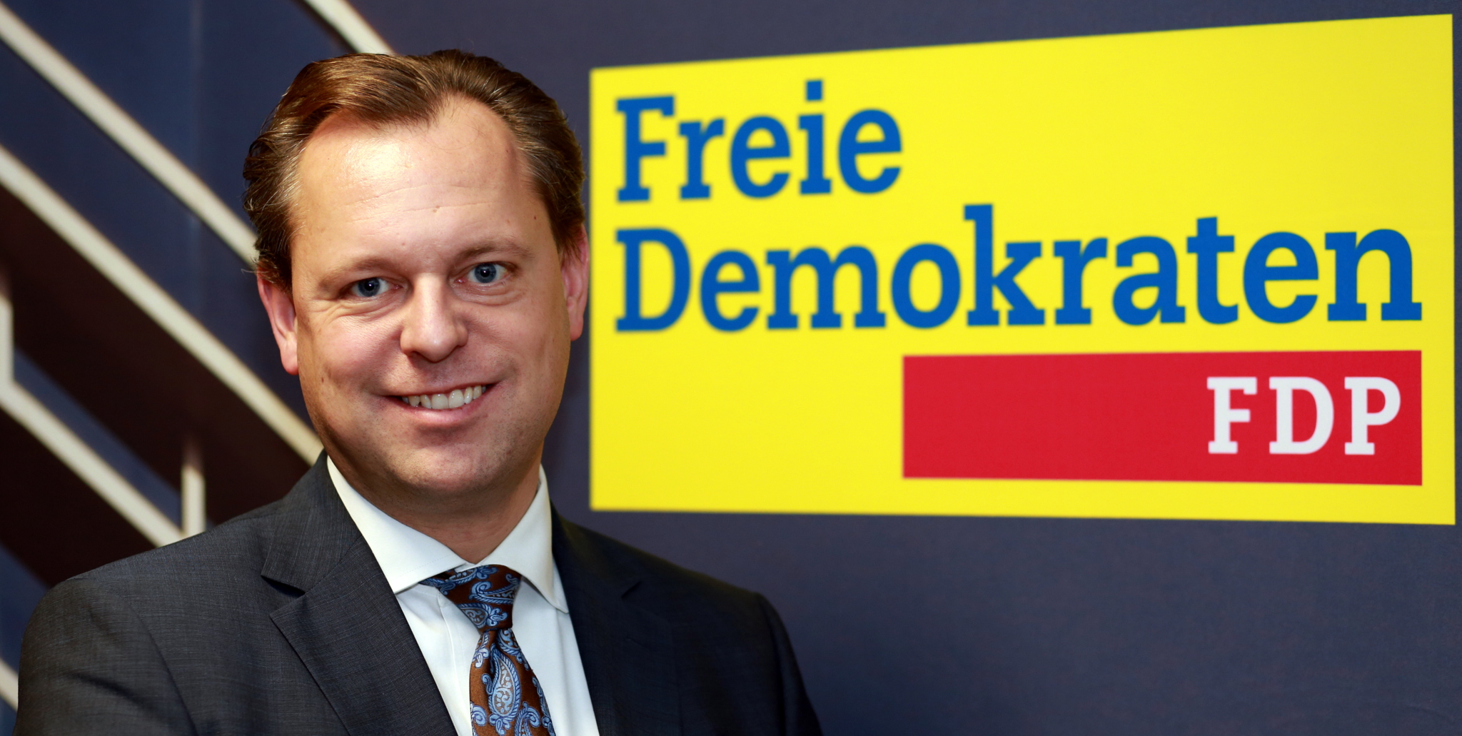 Thilo Seipel, Spitzenkandidat der FDP Neu-Isenburg zur Kommunalwahl am 06. März 2016