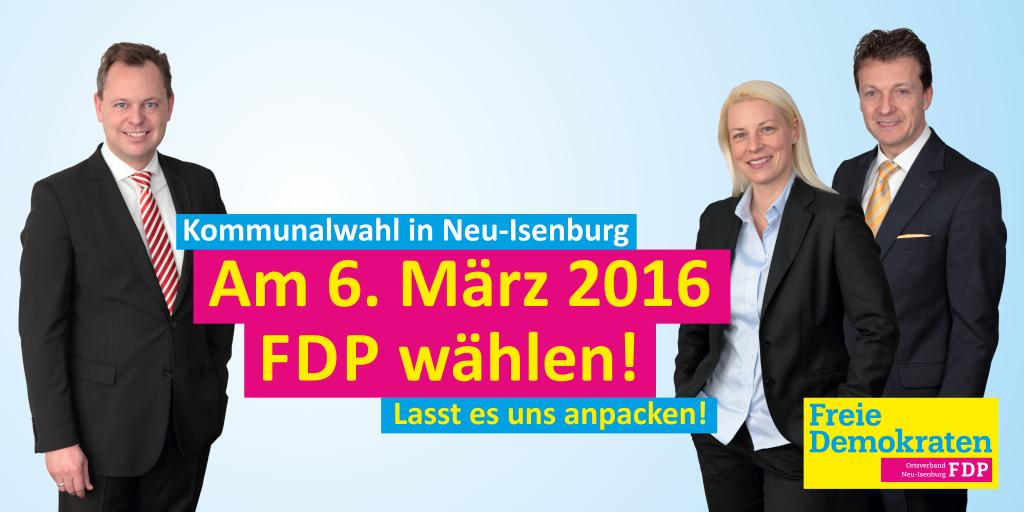 #wahl2016neuisenburg #fdp #neuisenburg