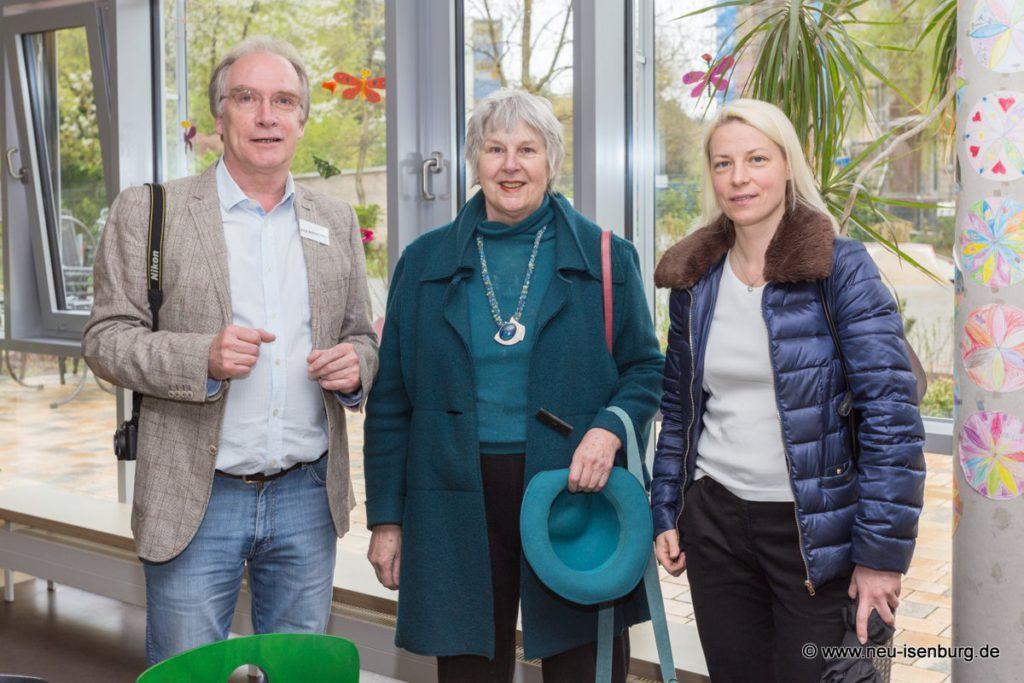 v.l.n.r.: Dirk Schloßhauer, Mechthild Voigt und Susann Guber.