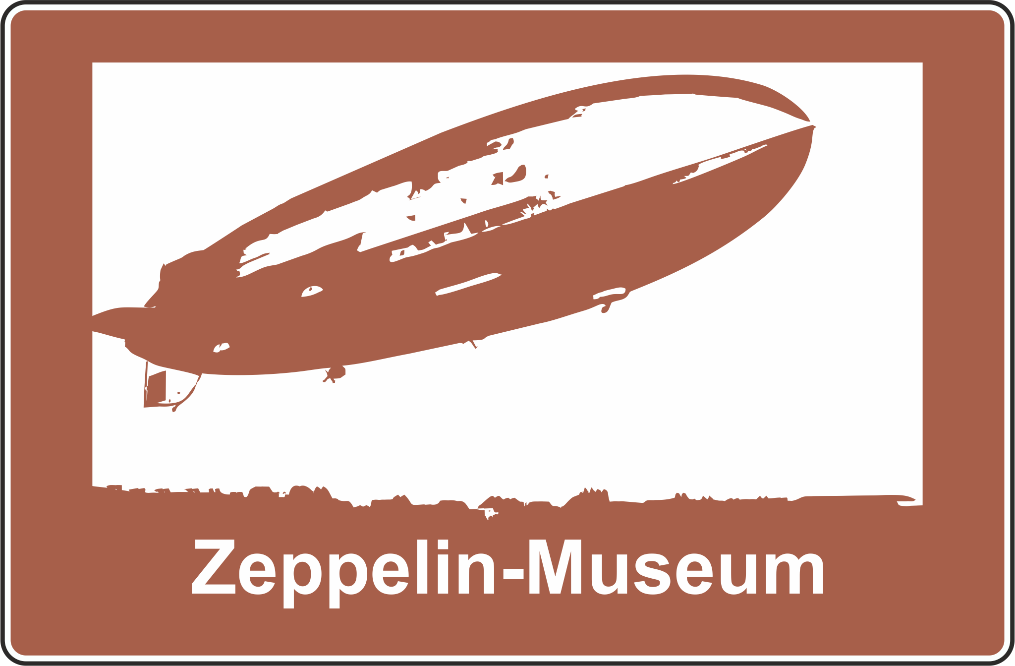 Autobahn-Hinweistafel Zeppelin-Museum © www.alexander-jungmann.de 2016