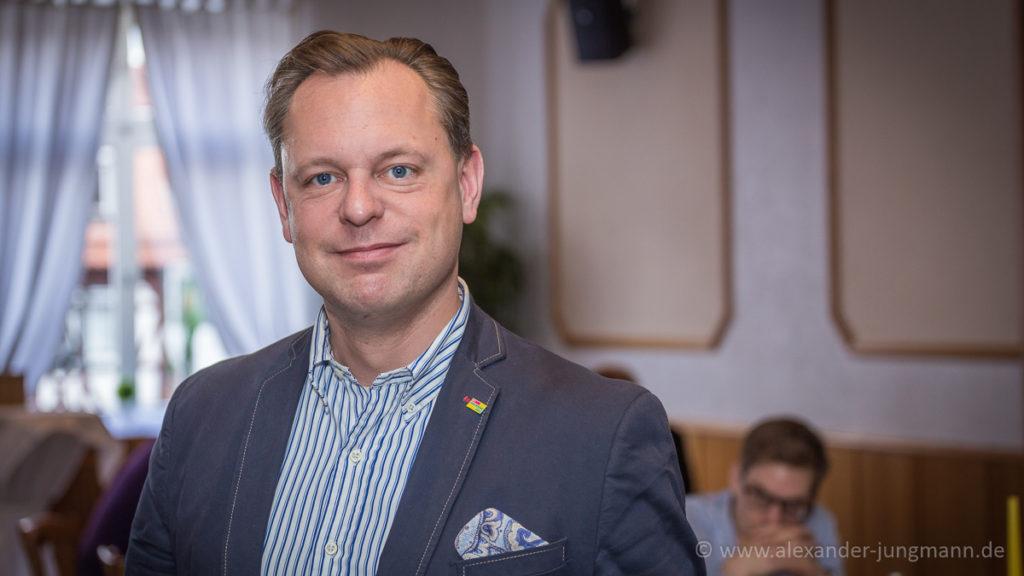 Fraktionsvorsitzender der FDP in Neu-Isenburg, Thilo Seipel.