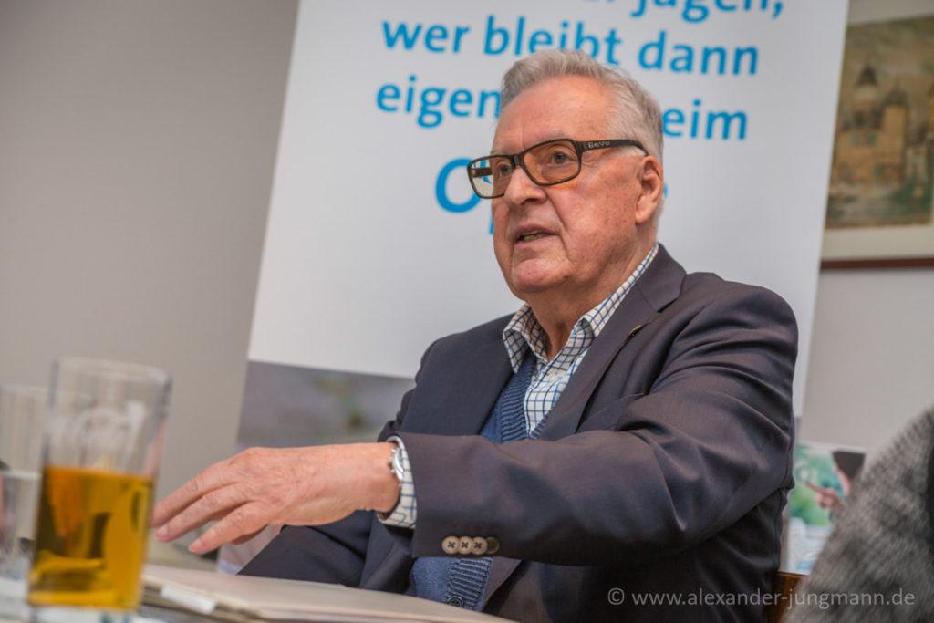 Alfred Huber, bei seinen Ausführungen zur Arbeit des Weissen Ring.
