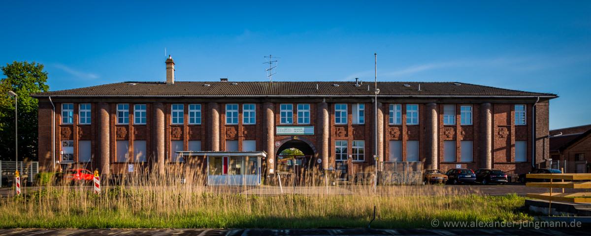 Ehemalige BfB-Betriebsstätte in der Schleussnerstraße.
