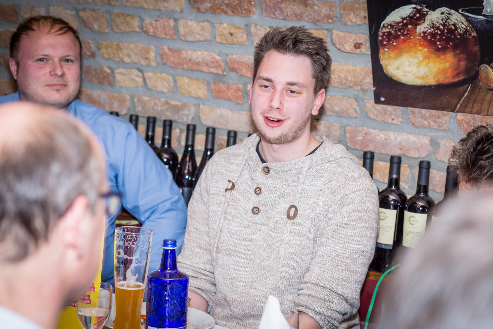 Luka Sinderwald, Fraktionsgeschäftsführer der FDP Neu-Isenburg und Vorsitzender der Jungen Liberalen Region Offenbach.