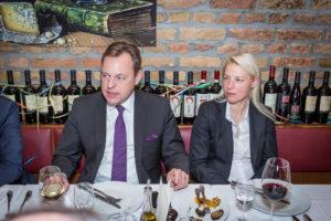 Thilo Seipel und Susann Guber, rechts im Bild.