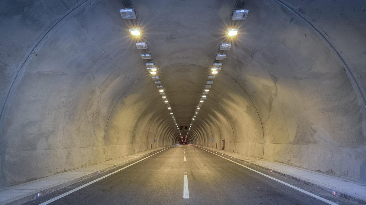 Autotunnel (Symbolbild).