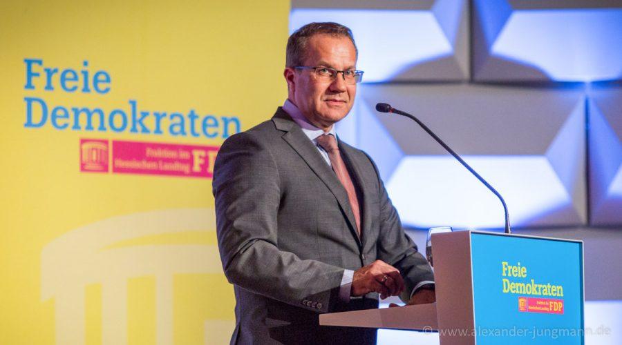 Jürgen Lenders, Verkehrspolitischer Sprecher der FDP-Fraktion im Hessischen Landtag