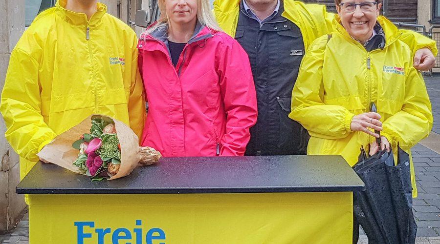 vnlr: Sven Knab, Susann Guber, Dirk Stender und Dagmar Weiner.