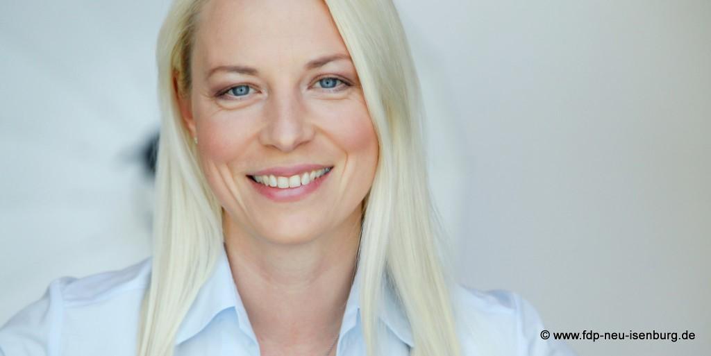 Susann Guber, bisherige Fraktionsvorsitzende