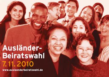 7. November 2010: Ausländerbeiratswahlen in Hessen.