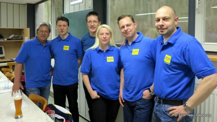 v.l.n.r.: Rolf Scholibo, Jörg Müller, Elvis Ness, Susann Guber, Thilo Seipel und Alexander Jungmann.
