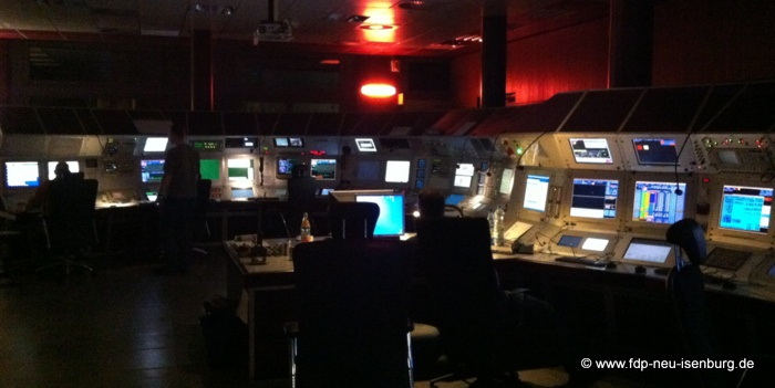 Kontrollzentrum des GSI.