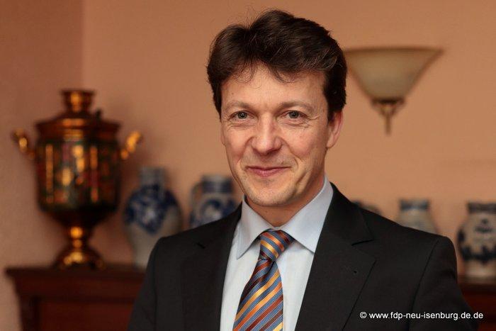 Jörg Müller, Vorsitzender der FDP Neu-Isenburg.