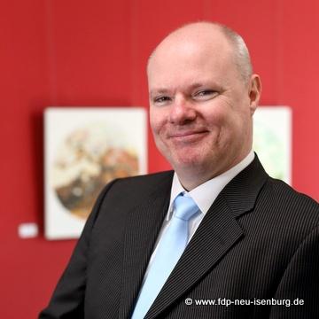 Richard Krüger, Beisitzer der FDP Neu-Isenburg und Europabeauftragter der FDP Offenbach Land.