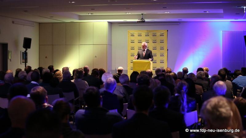 Zuhörerschaft während des Herbstgespräches mit Wolfgang Kubicki