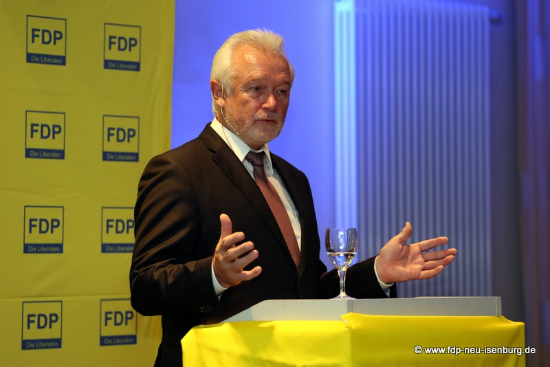 Wolfgang Kubicki MdL, stellv. Vorsitzender der FDP