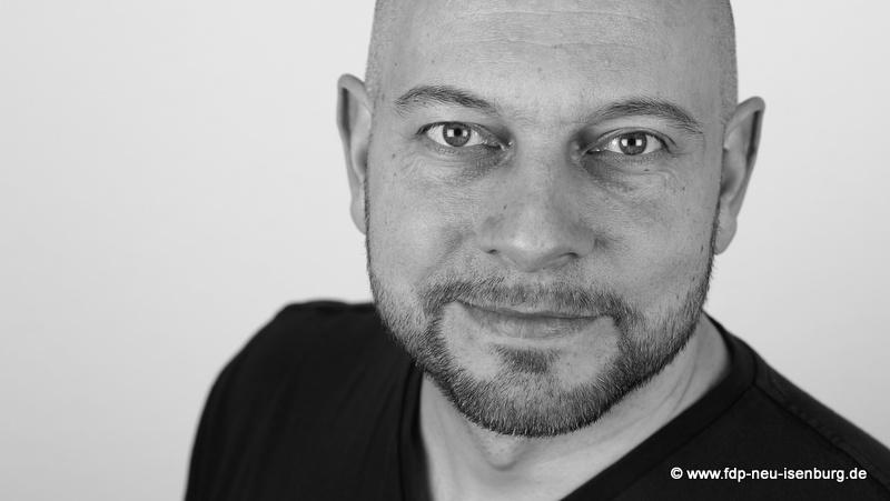 Alexander Jungmann, stellv. Ortsvorsitzender und Umweltpolitischer Sprecher der FDP Neu-Isenburg