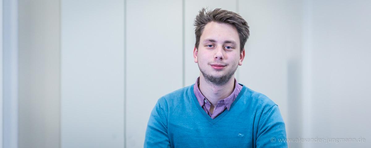 Luka Sinderwald, neuer Kreisvorsitzender der Jungen Liberalen im Kreis Offenbach