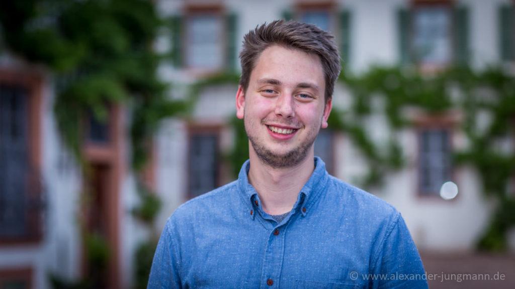 Luka Sindervald, Vorsitzender des Regionalverbands Offenbach der Jungen Liberalen