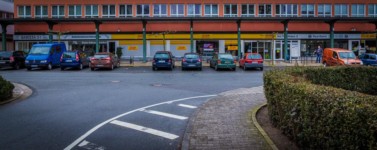 Parkplatzsituation in Gravenbruch