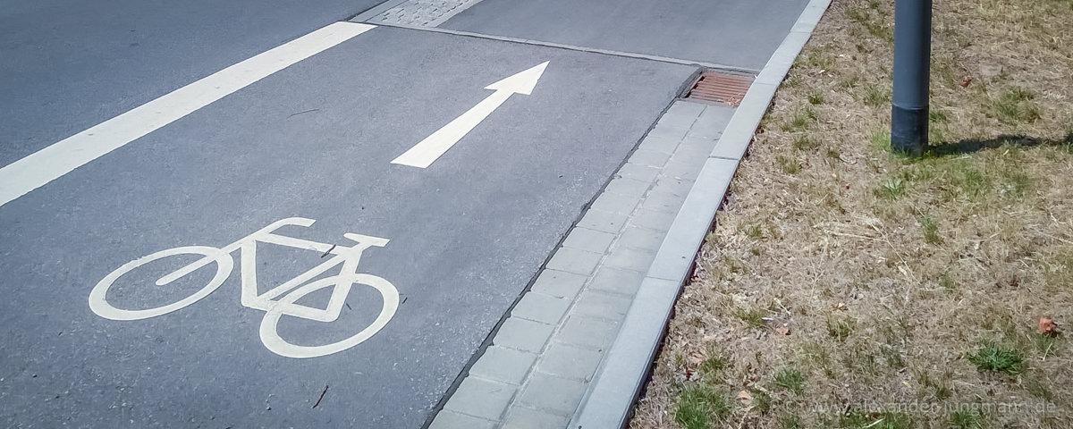 Symbolbild für Fahrradstraße