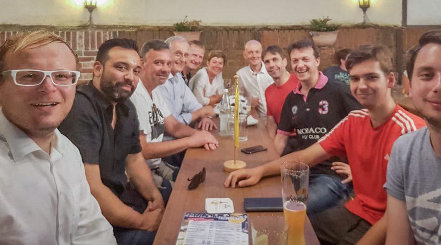 Gemeinsamer FDP-Stammtisch der Ortsverbände Frankfurt und Neu-Isenburg