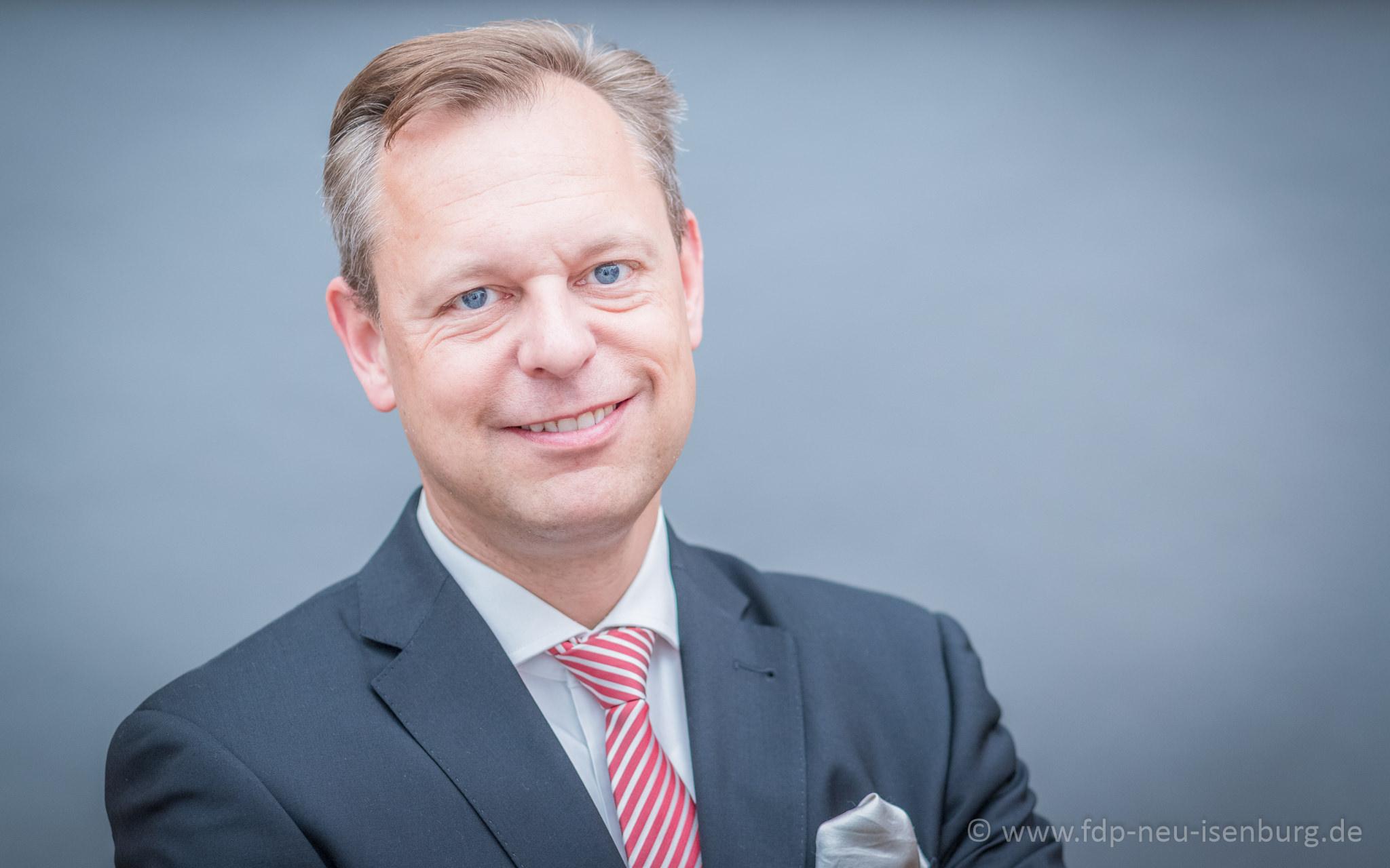 Thilo Seipel, Fraktionsvorsitzender der FDP Neu-Isenburg