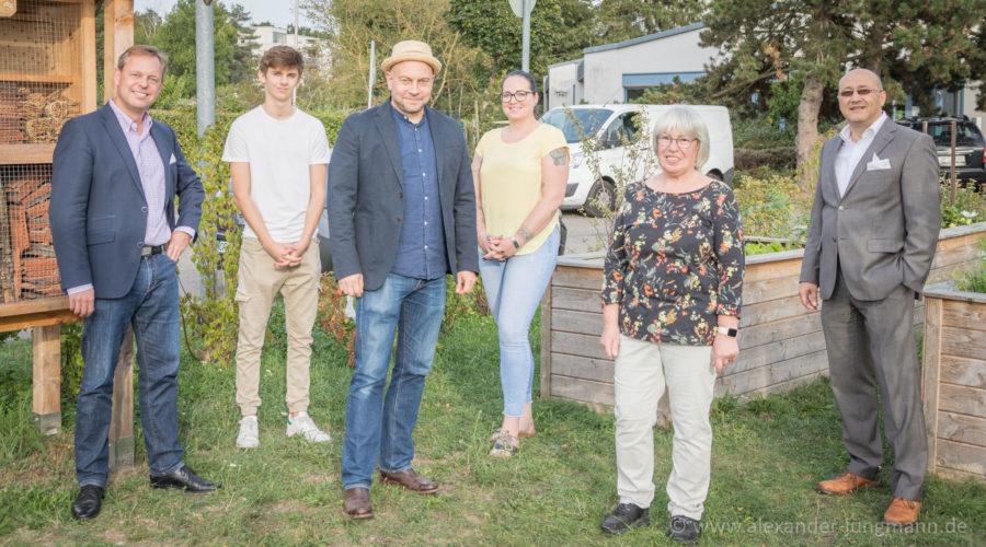 vlnr.: Thilo Seipel (Fraktionsvorsitzender), Nicolas Reiss, Alexander Jungmann, Janine Altenbrandt, Bettina Löw und Michael Seibt (Ortsvorsitzender).